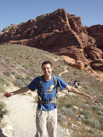 ben in red rocks