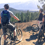 13 April 2014 More admiring the views - Allan, Felix and Adam on the Kloosifier